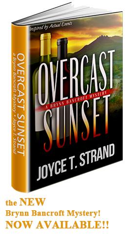 Overcast Sunset - a Brynn Bancroft Mystery, by Joyce T. Strand